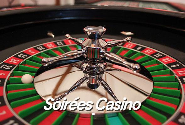 Soirée Casino - Table de casino avec croupier - Table de casino avec croupier - Location de table de casino - Casino gourmand - Casino factice - Animation Casino