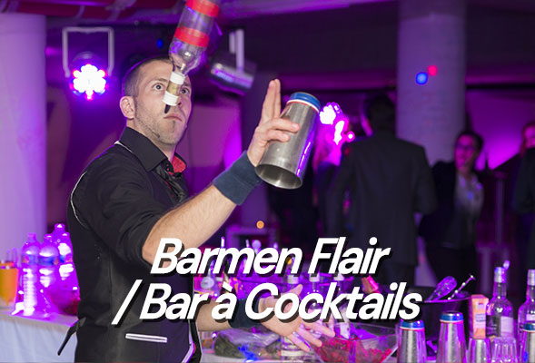 Barman Jongleur - Flair Bartender - Bar à cocktails - Bar à Mojitos - Sylvain Glatigny - Atelier cocktails - Show Flair