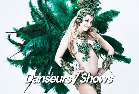 Show Latino, Brésilien, Tropical - Danse de salon - Artiste de Cabaret - Transformistes - Danseur - Danseuse