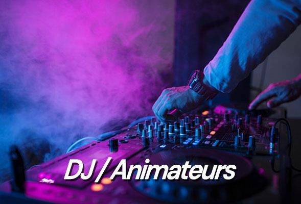 DJ - Dee Jay - Disc Jockey - Animation musicale - Animateur musical - DJ généraliste - spécialisé - Soirée dansante - Musique d'ambiance