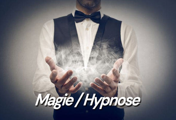 Magicien close-up et spectacle - Mentaliste - Spectacle d'Hypnose - Magie