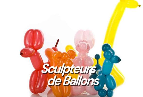 Sculpture de ballons - Décoration Ballons - Sculpteur Ballons - Ballooner